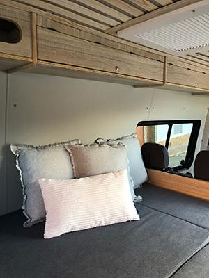 VW Crafter Camper interior