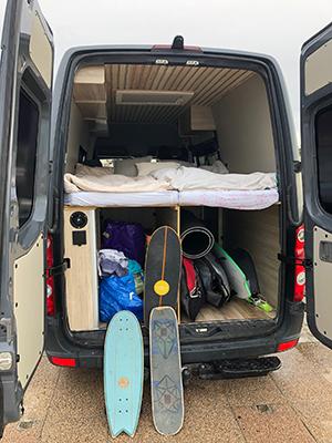 VW Crafter Camper Surf