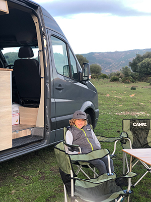 VW Crafter Camping