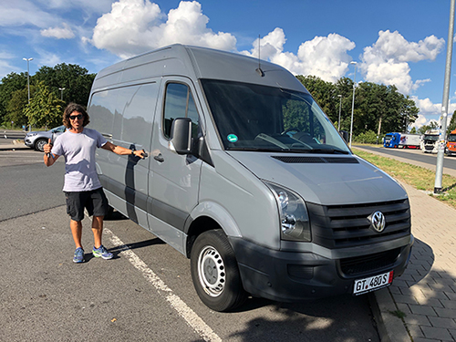 VW Crafter Import